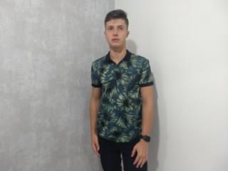 Camiseta Masculina Colcci 250102460 Vc80 Preto Estampado - Tamanho Médio