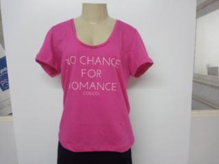 Camiseta Feminina Colcci 340104387 53657 Rosa - Tamanho Médio