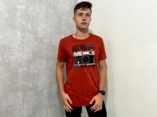 Camiseta Masculina Colcci 350108609 48335 Vermelho - Tamanho Médio