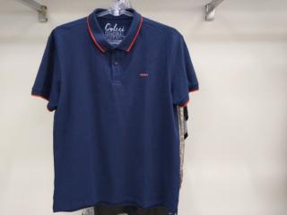 Camiseta Masculina Colcci 250102555 33664 Marinho - Tamanho Médio