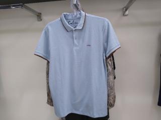 Camiseta Masculina Colcci 250102555 33854 Azul - Tamanho Médio
