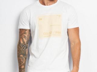 Camiseta Masculina Colcci 350109385 001 Branco - Tamanho Médio