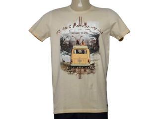 Camiseta Masculina Colcci 350107713 Bege Estampado - Tamanho Médio