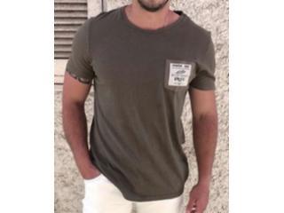 Camiseta Masculina Colcci 350108454 38946 Verde - Tamanho Médio