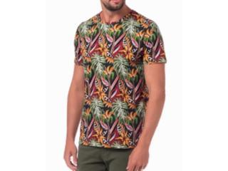 Camiseta Masculina Colcci 350109113 Vc27 Verde Estampada - Tamanho Médio