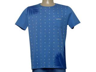 Camiseta Masculina Dopping 015268596 Azul - Tamanho Médio