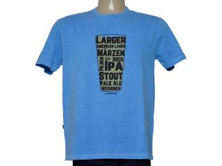 Camiseta Masculina Dopping 015268614 Azul - Tamanho Médio