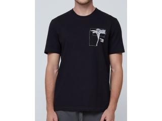 Camiseta Masculina Dzarm 6rn5 1een Preto - Tamanho Médio