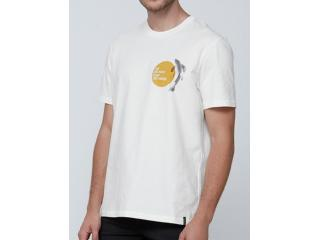 Camiseta Masculina Dzarm 6rn5 1fen Branco - Tamanho Médio
