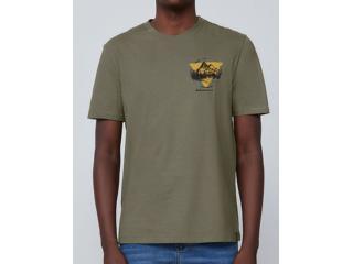 Camiseta Masculina Dzarm 6rn5 Eacen Verde - Tamanho Médio