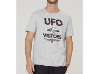 Camiseta Masculina Dzarm 6r7n M2hen Mescla - Tamanho Médio