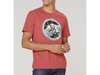 Camiseta Masculina Dzarm 6r7n Rwuen Vermelho - Tamanho Médio