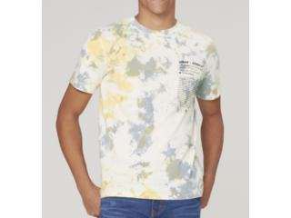 Camiseta Masculina Dzarm 6r8c 1aen Off White Color - Tamanho Médio