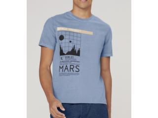 Camiseta Masculina Dzarm 6r8e 1ben Azul - Tamanho Médio