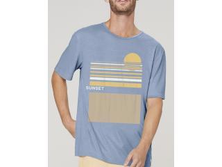 Camiseta Masculina Dzarm 6r8b Az3en Azul - Tamanho Médio