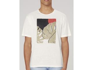 Camiseta Masculina Dzarm 6r8b Nmcen Off White - Tamanho Médio