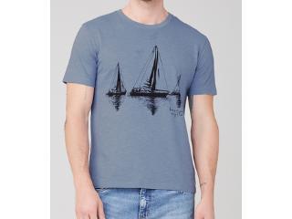 Camiseta Masculina Dzarm 6r7m  Az3en Azul - Tamanho Médio