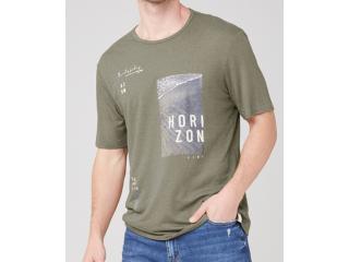 Camiseta Masculina Dzarm 6r8b Eacen  Verde - Tamanho Médio