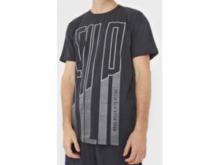Camiseta Masculina Fila Ls180793.160 Lia Preto - Tamanho Médio