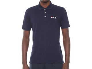 Camiseta Masculina Fila Ls360192.140 Select Marinho - Tamanho Médio