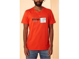 Camiseta Masculina Forum 354603467 53708 Laranja - Tamanho Médio