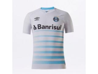 Camiseta Masculina Grêmio U31g033.232 0f 2 2021 Classic Branco/azul - Tamanho Médio