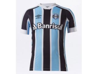 Camiseta Masculina Grêmio U31g023.312 Classic of 1 2021 S/n Celeste/preto/branco - Tamanho Médio