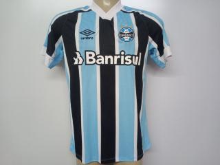 Camiseta Masculina Grêmio U31g024.312 Classic of 1 2021 N10 Celeste/preto/branco - Tamanho Médio