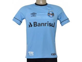 Camiseta Masculina Grêmio 3g160656 of Charrua 2018 Fan S/n  Azul/preto/branco - Tamanho Médio