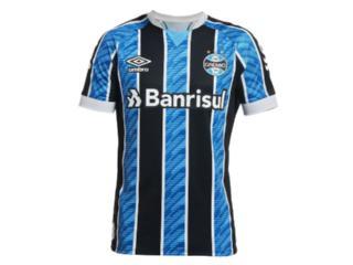 Camiseta Masculina Grêmio 3g161206  Of.1 2020 Classic C/n 11 Tricolor - Tamanho Médio