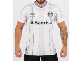 Camiseta Masculina Grêmio 3g161207 Of.2 2020 Classic C/n 11 Branco/azul/preto - Tamanho Médio