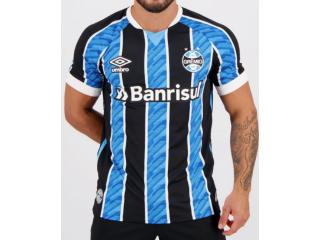 Camiseta Masculina Grêmio 3g161165 of i 2020 Classic c/ N10 Tricolor - Tamanho Médio
