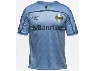 Camiseta Masculina Grêmio U31g514088.373 Of.3 2020 Classic Azul/marinho - Tamanho Médio