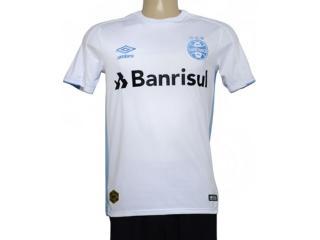 Camiseta Masculina 3g160773 Grêmio Of.2 2019 Classic Branco/azul - Tamanho Médio