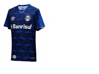 Camiseta Masculina Grêmio 3g160988 of 3 2019 Classic Marinho/branco - Tamanho Médio