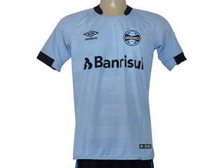Camiseta Masculina Grêmio 3g160095 of 2 2017 Fan Celeste/preto - Tamanho Médio