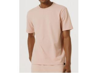 Camiseta Masculina Hering 4f46 Kmmen  Rosa - Tamanho Médio