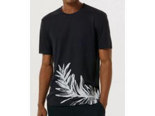 Camiseta Masculina Hering 4f7a Ax7en Azul - Tamanho Médio