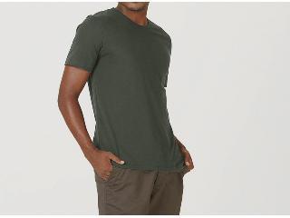Camiseta Masculina Hering 0299 Naten Musgo - Tamanho Médio