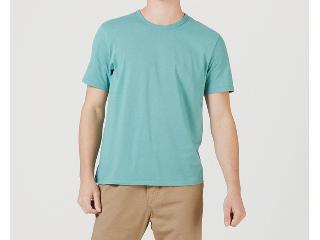Camiseta Masculina Hering 0299 Wg9en  Verde - Tamanho Médio