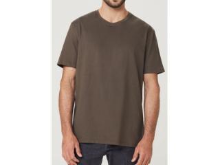 Camiseta Masculina Hering 0227 Naten Verde - Tamanho Médio