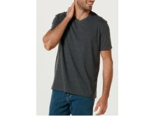 Camiseta Masculina Hering 022b Md307s Chumbo - Tamanho Médio