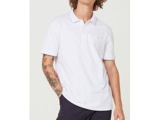 Camiseta Masculina Hering 3m4m 1aen Branco/azul - Tamanho Médio