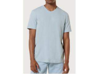 Camiseta Masculina Hering 022b Av7en Azul Bebê - Tamanho Médio
