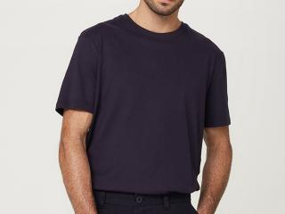 Camiseta Masculina Hering 0227 Ax7en Marinho - Tamanho Médio