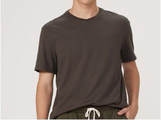 Camiseta Masculina Hering 0201 Naten Verde - Tamanho Médio