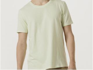 Camiseta Masculina Hering 0201 Wb8en Verde Claro - Tamanho Médio