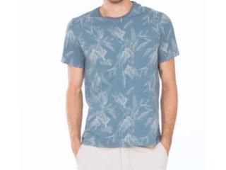 Camiseta Masculina Hering 4efk 3hen Azul - Tamanho Médio