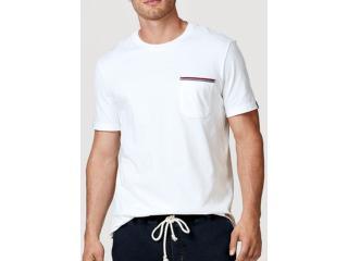 Camiseta Masculina Hering 4egx Nmcen Branco - Tamanho Médio