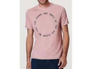 Camiseta Masculina Hering 4ekb Krqen Rosa - Tamanho Médio